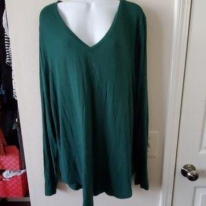 Green tunic